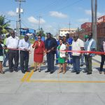 Ribbon cutting ceremony for TGI's Concrete Roads